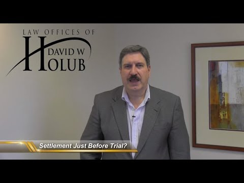 Why Do Settlement Negotiations Happen Just Before Trial?   Indiana Lawyer Explains