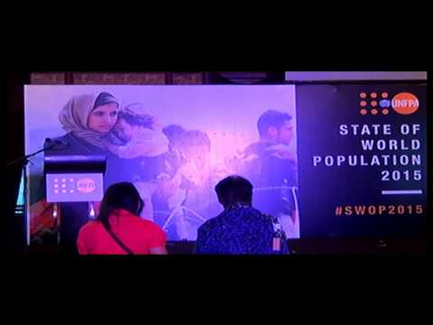 Launch of the State of World Population Report
