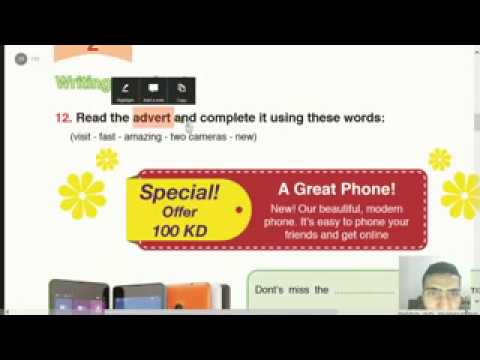 10 Target English Grade 6 Unit 2 An Advertisement for Kuwait Lesson 6