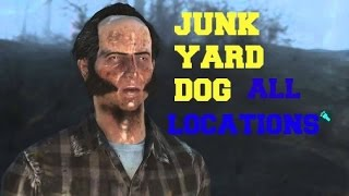 Fallout 4 how to find junk yard dog ALL Locations
