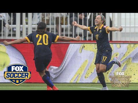 49th Most Memorable Women's World Cup Moment: Australia's Kyah Simon goal upsets Brazil   FOX SOCCER