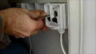 How to install a Honeywell Evohome BDR91 relay on a back box / surface pattress video