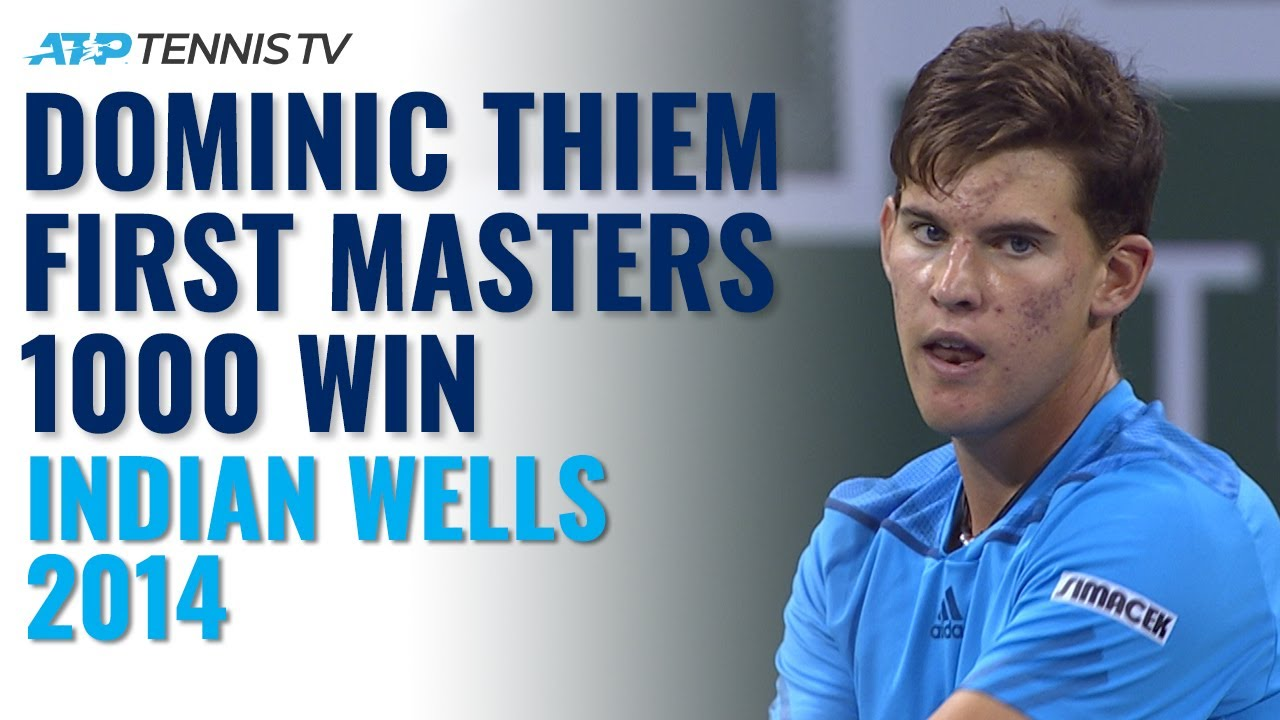 Dominic Thiem's First-Ever Masters 1000 Win! | Indian Wells 2014