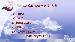 Dream Categories 6-10