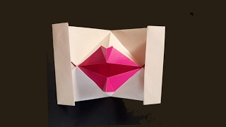 How to Make || Origami Paper lips || DIY Paper Art || Nice Art Style