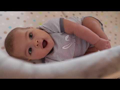 HAUCK DREAMER BASSINET/TRAVEL COT/PORTABLE BABY CRADLE