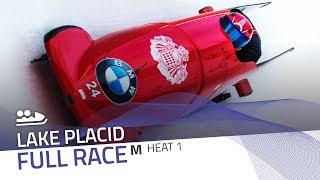 Lake Placid | BMW IBSF World Cup 2017/2018 - 2-Man Bobsleigh Heat 1 | IBSF Official