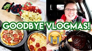 🎄 VLOGMAS 2019 DAY 31! 😭 THE LAST DAY! 🍕 NYE HOMEMADE PIZZA ❤ CHATTY VLOG READING YOUR CARDS