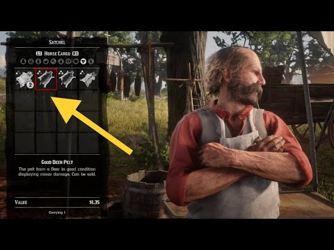 Where To Sell Animal Pelts Red Dead Redemption 2 Youtube