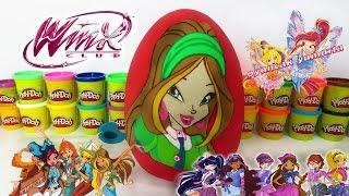 WinX Flora Sürpriz Yumurtası WinX Club Dergisi ve WinX Bloom Oyunu