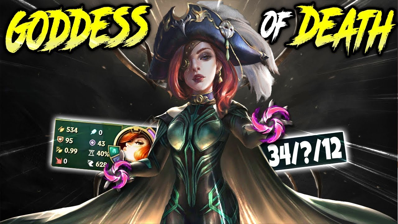 500 Ad Goddess Of Death Miss Fortune Best Miss Fortune Season 10 Build Lol Bot Mf S10 Gameplay Youtube