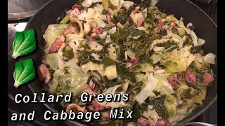 How to Make: Collard Greens and Cabbage Mix