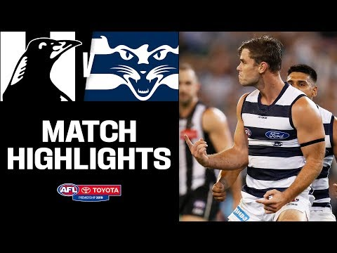 Hawkins Joins Geelong Royalty | Collingwood V Geelong Highlights | Round 1, 2019 | AFL