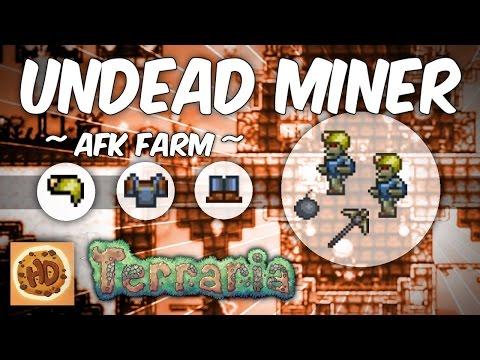 Terraria AFK Undead Miner Farm | Get the Mining Armor!