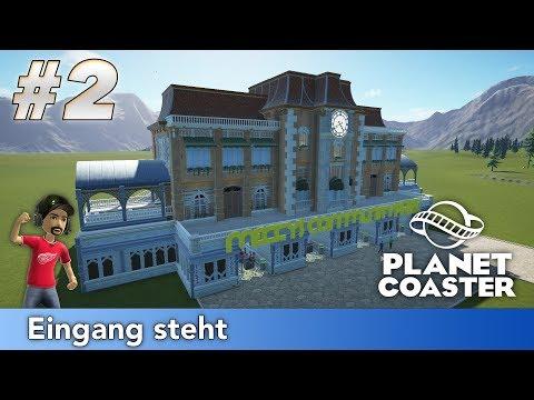 Planet Coaster - Community Park #2 | Eingang steht