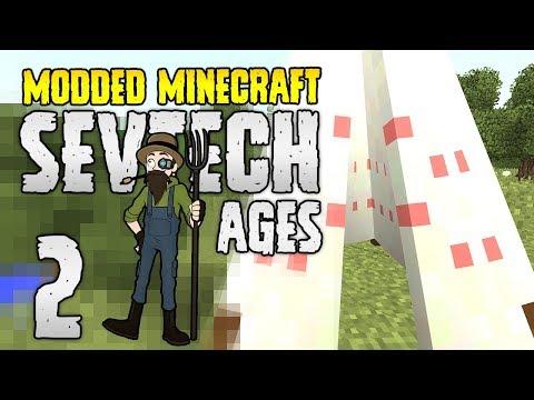 Minecraft SevTech: Ages   2   Safety Tent!   Modded Minecraft 1.12.2