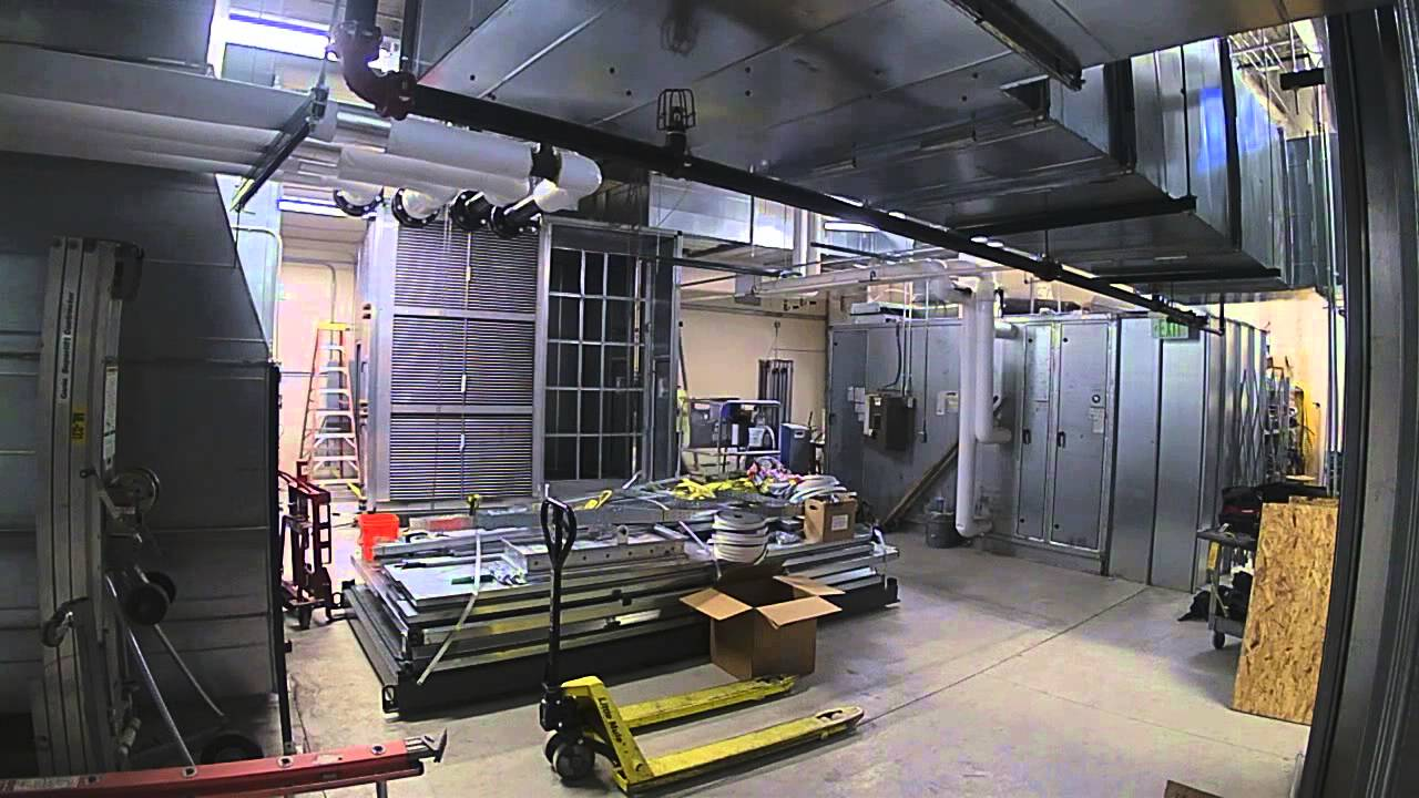 Time Lapse Of Air Handling Unit Ahu Assembly Amp Install