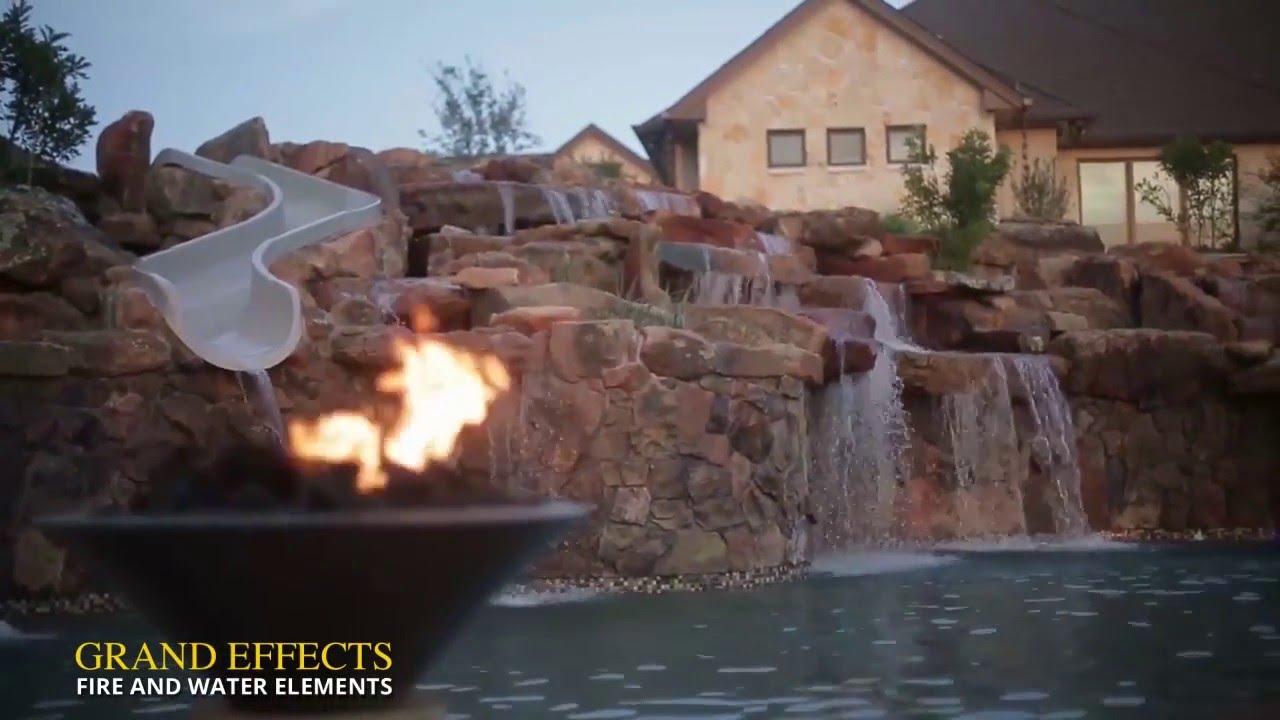 Chris Anderson Of Custom Design Pools Talks About Grand Effects Poolside  Firepits