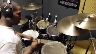pitbull ft chris brown fun drum cover