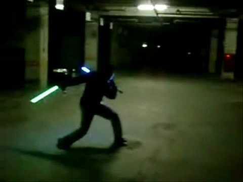 Lightsaber Tonfas Youtube