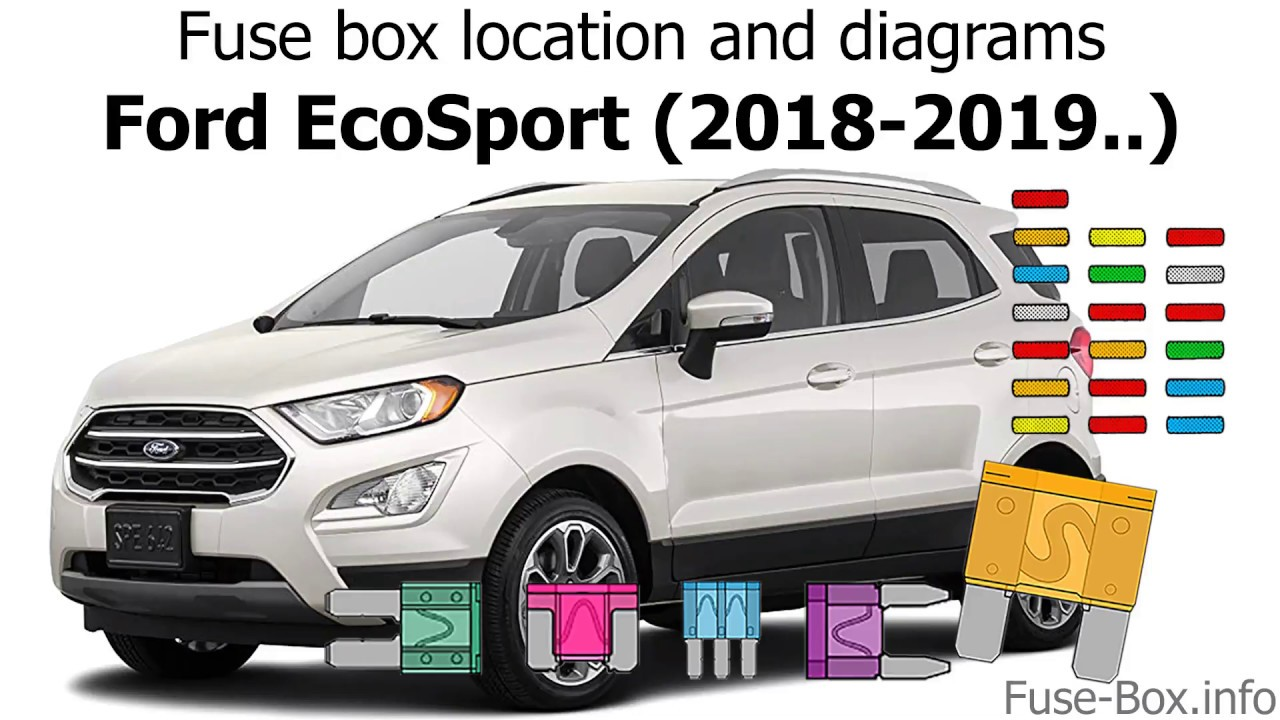 Fuse Box Location And Diagrams  Ford Ecosport  2018