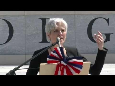 Jill Stein 2016 Rally State Capitol Georgia