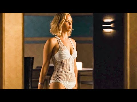 Jennifer Lawrence Goes Swimming Scene - PASSENGERS (2016) Movie Clip