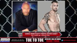 Frank Trigg pre-fight interview with Bellator 182's Chris Honeycutt