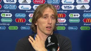 luka modric - post match interview - 2018 fifa world cup final
