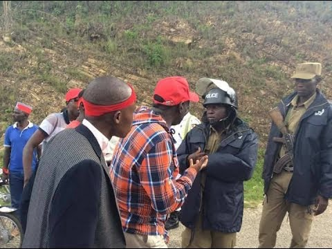 PEOPLE AND POLICE STAND OFF IN RUKUNGIRI