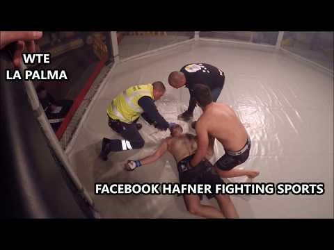 "Darwin ""El Noble"" Rodriguez vs Xavier Rigau MMA WTE La Palma BRUTAL KNOCK OUT!!!"