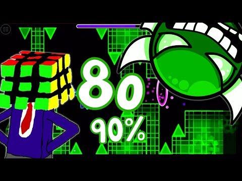IM BEATING IT TODAY NO MATTER WHAT... 8o 90%   Geometry Dash (Insane Demon) GO = 50%
