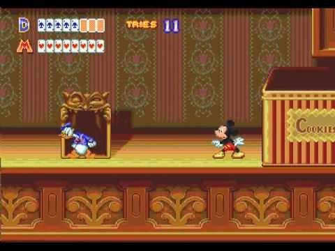 Mega Drive Longplay [140] World Of Illusion - Starring Mickey Mouse And Donald Duck (2P) (a)