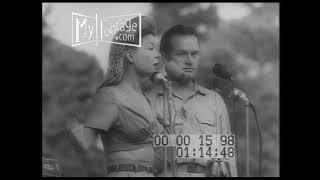 1944 U.S.O. Show: Bob Hope, and Frances Langford, and Patty Thomas