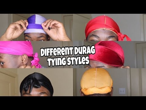 How To Tie A Durag In Different Ways | Tutorial