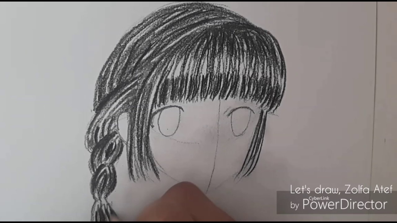 how to draw a beautiful anime girl