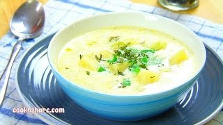 Rich And Creamy Potato & Leek Soup