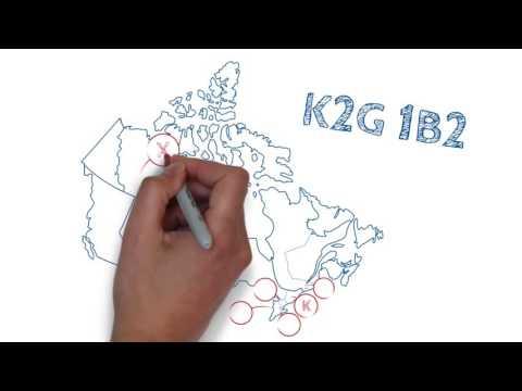 Understanding postal codes
