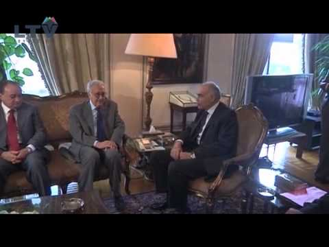 UN Syria envoy Lakhdar Brahimi meets with Egypt's foreign minister