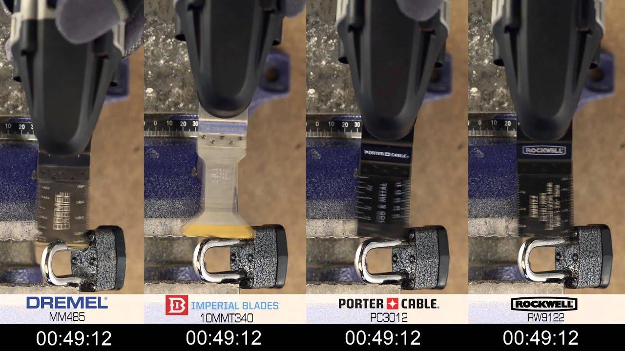 Cutting Through Case Hardened Metal Dremel Mm485 Youtube