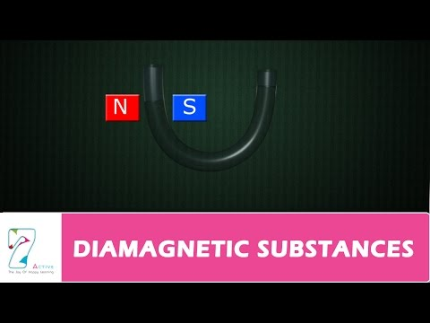DIAMAGNETIC SUBSTANCES