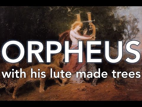 New music/recording: Orpheus with his lute made trees (SSA and piano)