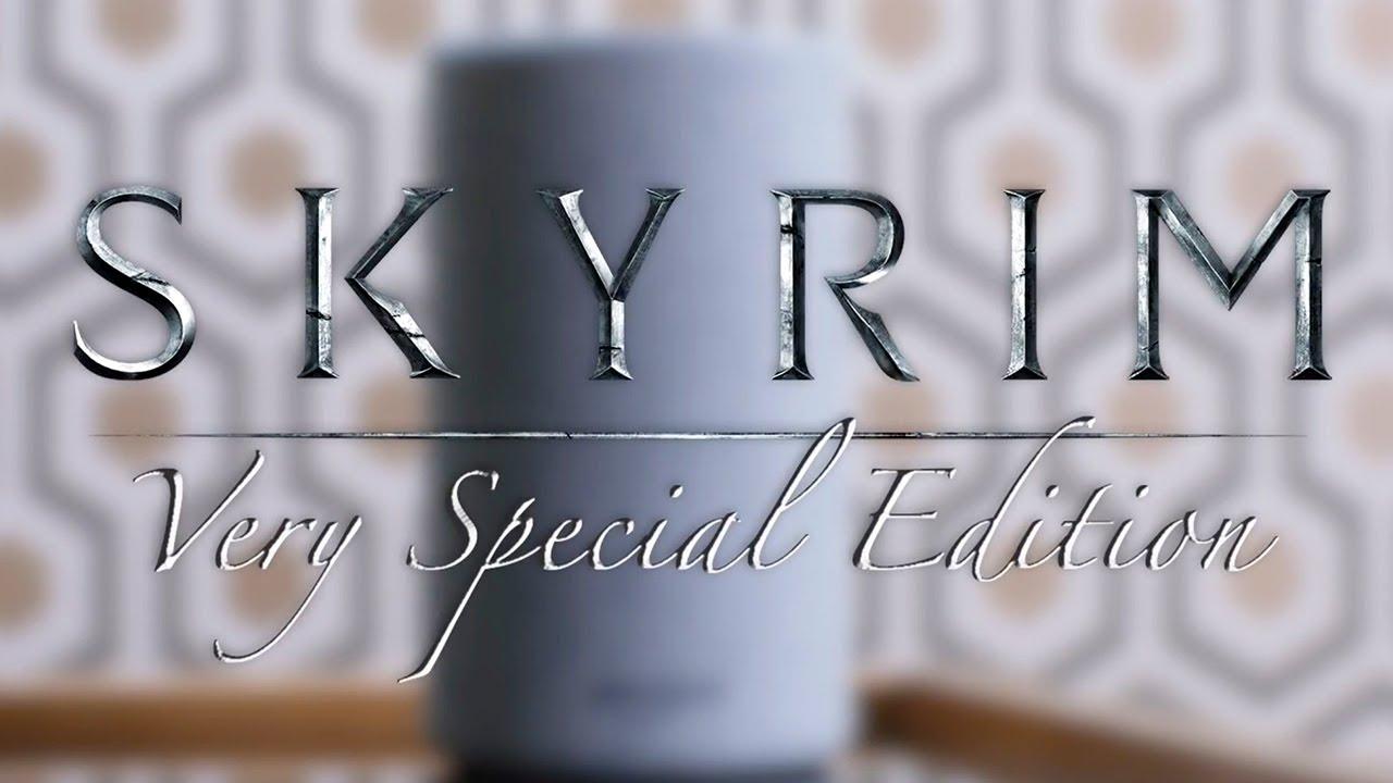 Skyrim Very Special Edition Official Announcement Trailer Bethesda E3 2018 Youtube