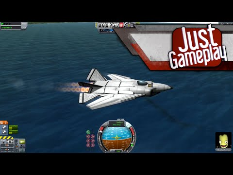 Building and Flying a Fighter Jet in Kerbal Space Program
