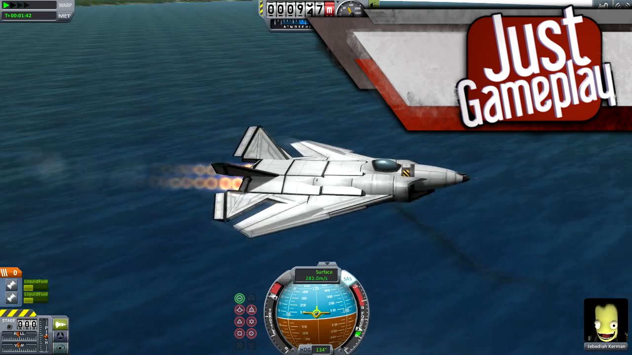Building and Flying a Fighter Jet in Kerbal Space Program ...