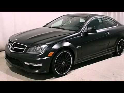 2012 mercedes benz c63 amg coupe edition 1 springfield il for Mercedes benz springfield il