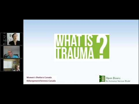 Webinar: Trauma Informed Boards for Women's Shelters and Transition Houses