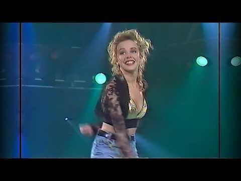 Kylie Minogue - The Locomotion (Live Rockopop 1989)