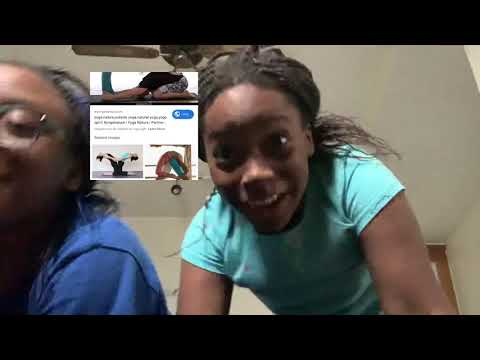 Extreme yoga challenge!featuring Nigeria Curtis