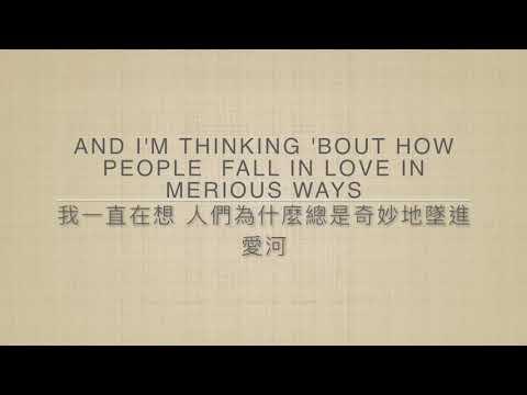 [中英字幕] Thinking out loud - Ed Sheeran